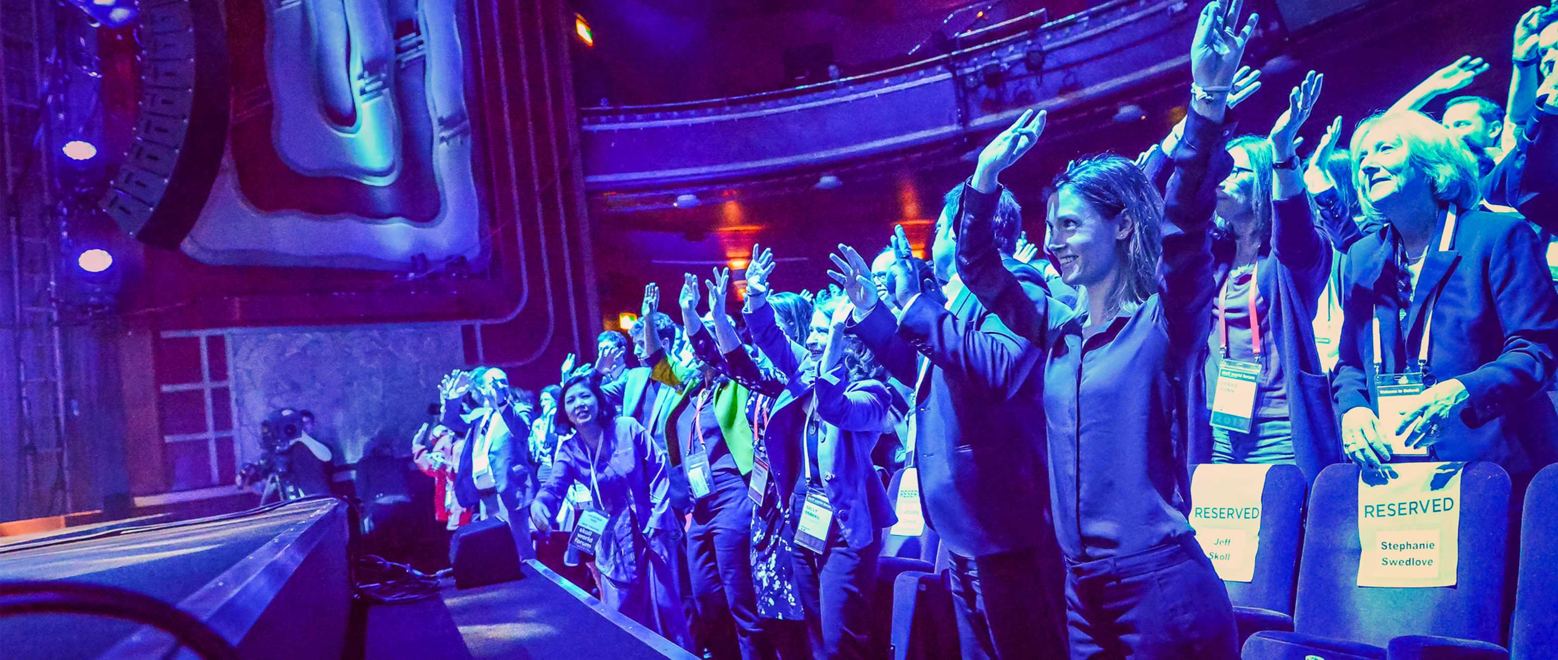 Michael Franti and Bono Celebrate Our 2017 Skoll Awardees